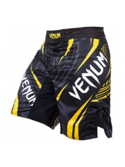 Шорты ММА Lyoto Machida RYUJIN Fightshorts - Black/Yellow Venum