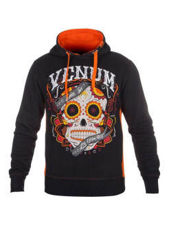 Худи Santa Muerte Black/Orange Venum