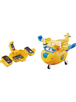 Донни с чемоданчиком, свет, звук Super Wings