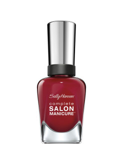 Sally Hansen Salon Manicure Keratin Ж Товар Лак для ногтей, тон red over heels SALLY HANSEN