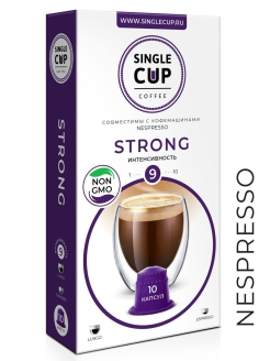 Кофе Single Cup Coffee Strong, 90 г. Single Cup Coffee