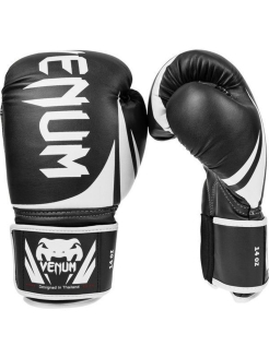 Перчатки боксерские Venum Challenger 2.0 Boxing Gloves - Black Venum