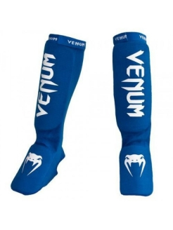 Щитки Kontact Shinguards and Instep Blue Venum