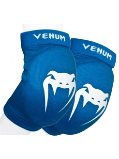 Налокотники Venum Kontact Elbow Protector - Cotton Blue (пара) Venum