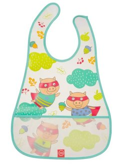 "Нагрудник на липучке ""WATERPROOF BABY BIB"" Happy Baby"