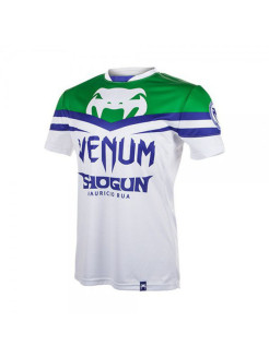 Футболка Venum Shogun UFC161 Edition Dry Fit White/Green Venum