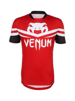 Футболка Venum - Aldo UFC 163 Walk-Out Dry Fit - Red & Black Venum
