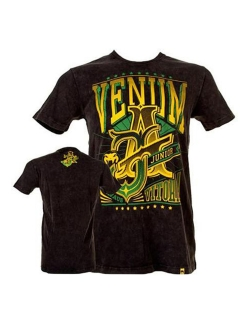 Футболка Venum Jose Aldo Vitoria T-shirt - Black/Green Venum