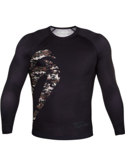Рашгард Venum Original Giant Jungle Camo Black L/S Venum