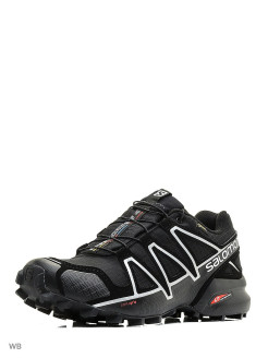 Кроссовки SHOES SPEEDCROSS 4 GTX BLACK/BLACK/SI SALOMON
