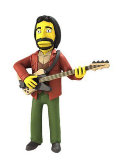 "Статуэтка ""The Simpsons 5"" Series 2 - John Entwistle Who Neca"