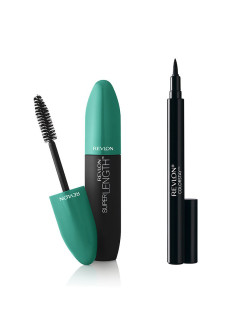 Revlon Набор: 025 тушь mascara super length nwp blackest black 101 + подводка Revlon