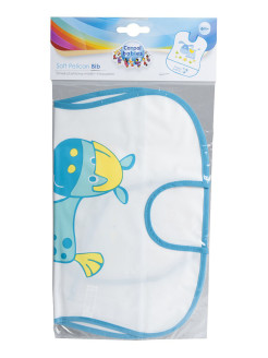 Нагрудный фартук Happy Baby Bib With Hangers Bear Yellow 16011