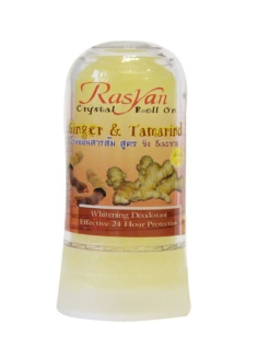 Дезодорант-кристалл с имбирем и тамариндом Crystal roll-on - ginger and tamaring . Rasyan