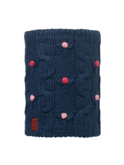 Бандана 2016-17 JUNIOR KNITTED & POLAR NECKWARMER DYSHA DARK NAVY-DARK NAVY-Standard Buff