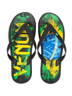 Сланцы Venum Brazilian Flag Sandals - Green/Yellow/Blue Venum
