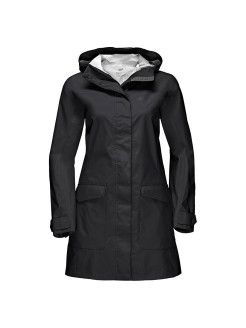 Пальто CROSSTOWN RAINCOAT WOMEN Jack Wolfskin
