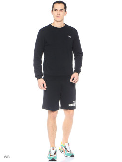 Шорты ESS No1 Sweat Shorts 9' PUMA