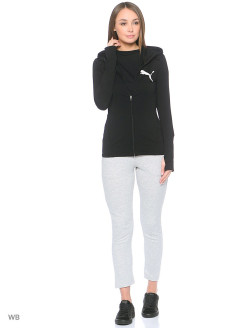Толстовка ELEVATED FZ Hoody W Puma