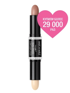 Карандаш-стик Для Контуринга Megaglo Dual-ended Contour Stick E7511 light-medium Wet n Wild