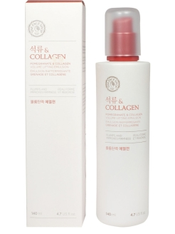 Эмульсия для лица(гранат+коллаген) POMEGRANATE&COLLAGEN, 140мл The Face Shop