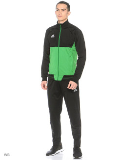 Ветровка TIRO17 PES JKT      BLACK/GREEN/WHITE Adidas