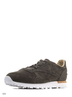 Кроссовки CL LEATHER LST      URBAN GREY/STONE/WHI Reebok