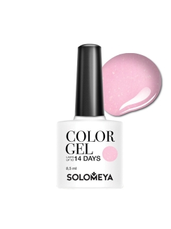Гель-лак  Color Gel Pink Iris SCGLE051/Розовый ирис SOLOMEYA