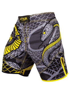 Шорты ММА Snaker Black/Yellow Venum