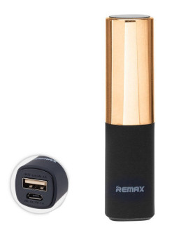 Power Bank 2400 mAh Remax RPL - 12 Lipmax Gold REMAX