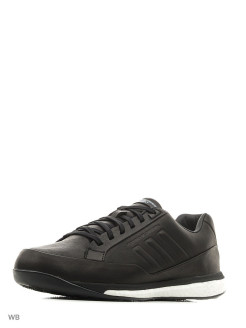 Кроссовки муж. Athletic Sport      BLACK/BLACK/FTWWHT Adidas