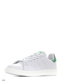 Кеды муж. STAN SMITH          FTWWHT/FTWWHT/GREEN Adidas