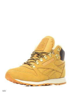Сникеры Cl Leather Mid Sher Golden Wheat/Brown/W Reebok