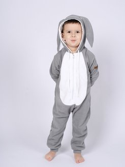 Комбинезон Заяц FUNKY GRAY BUNNY HOME SUIT KIDS FUNKY RIDE