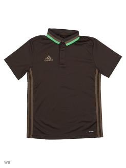 Поло CON16 CL POLO Y  NBROWN/BRANCH Adidas
