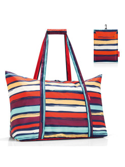 Сумка Mini maxi travelbag artist stripes Reisenthel