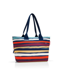 Сумка Shopper E1 artist stripes Reisenthel