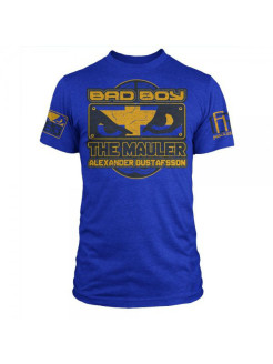 Футболка Bad Boy Alexander Gustafsson Walkout - UFC Fight Night 37 - Royal Blue Heather Bad boy