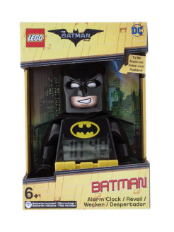 Часы настольные Batman Movie (Лего Фильм: Бэтмен) минифигура Batman                                  Lego.