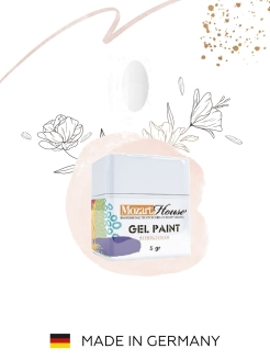 Гель-краска Gel Paint №61 Mozart House, 5 гр Mozart House