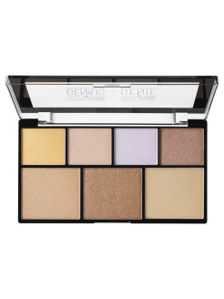 Палетка иллюминаторов для стробинга STROBE OF GENIUS ILLUMINATING PALETTE NYX PROFESSIONAL MAKEUP