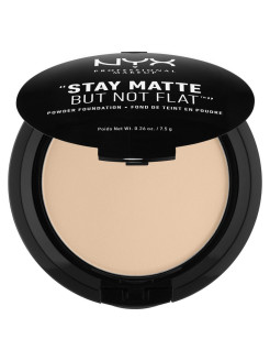 Тональная основа-пудра STAY MATTE BUT NOT FLAT POWDER FOUNDATION - NUDE BEIGE 017 NYX PROFESSIONAL MAKEUP