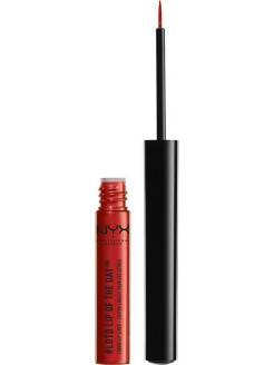 Устойчивая подводка для губ LOTD LIP OF THE DAY LIQUID LIP LINER - HEATWAVE 01 NYX PROFESSIONAL MAKEUP