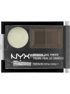 Тени для бровей EYEBROW CAKE POWDER - DARK BROWN BROWN 02 NYX PROFESSIONAL MAKEUP