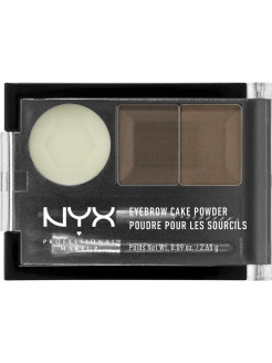 Тени для бровей EYEBROW CAKE POWDER - BRUNETTE 05 NYX PROFESSIONAL MAKEUP