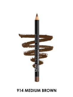 Карандаш для глаз Slim eye pencil - MEDIUM BROWN 914 NYX PROFESSIONAL MAKEUP