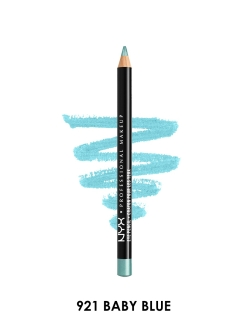 Карандаш для глаз SLIM EYE PENCIL - BABY BLUE 921 NYX PROFESSIONAL MAKEUP