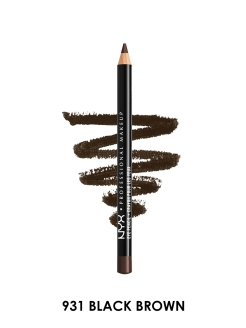 Карандаш для глаз Slim eye pencil - BLACK BROWN 931 NYX PROFESSIONAL MAKEUP