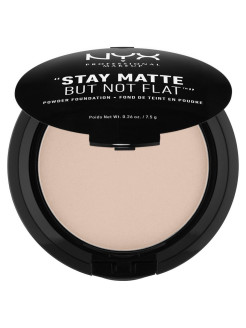 Тональная основа-пудра STAY MATTE BUT NOT FLAT POWDER FOUNDATION - CREAMY NATURAL 04 NYX PROFESSIONAL MAKEUP
