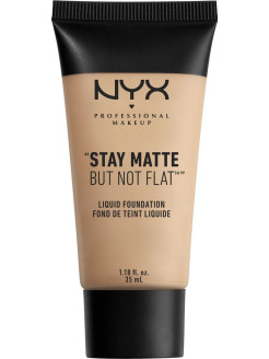 Матирующая тональная основа. STAY MATTE BUT NOT FLAT LIQUID FOUNDATION - CREAMY NATURAL 04 NYX PROFESSIONAL MAKEUP